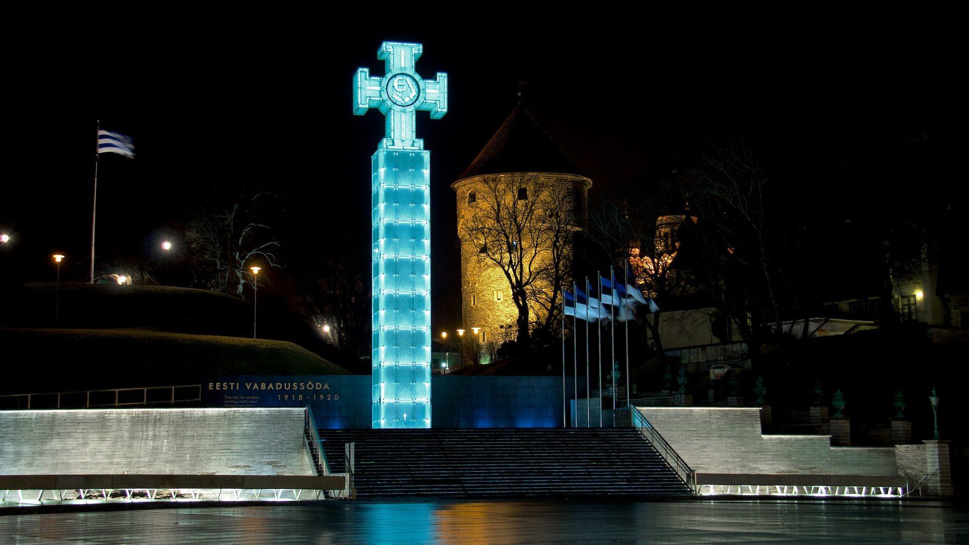 История монумента свободы Эстонии 1919-1937