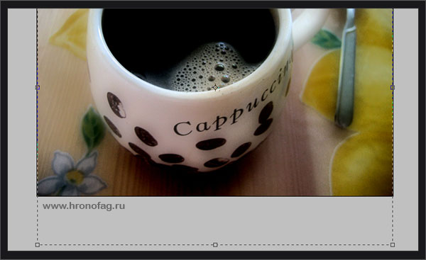 crop tool в фотошопе