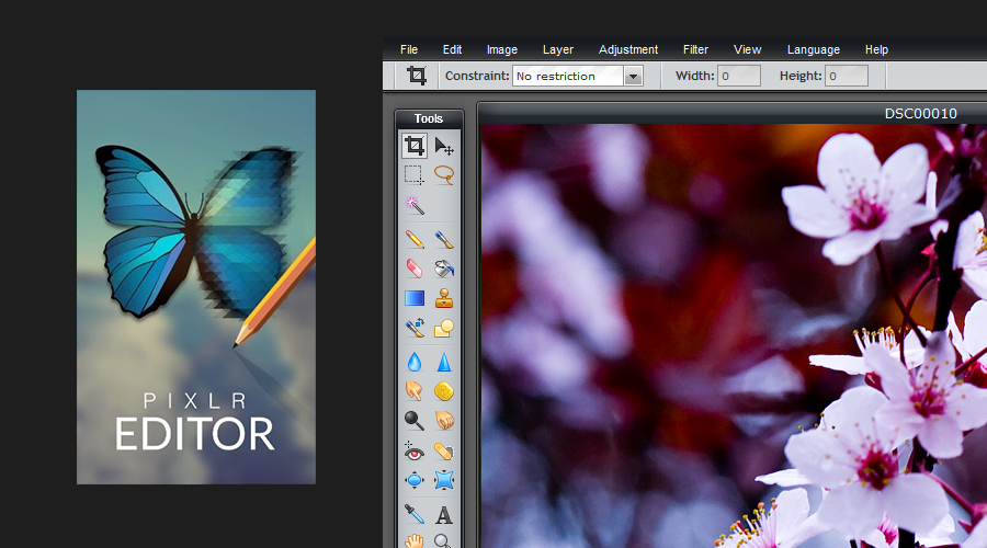 Pixlr Editor [часть 1]