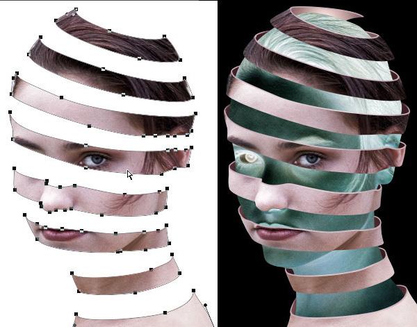векторная маска в Фотошопе
