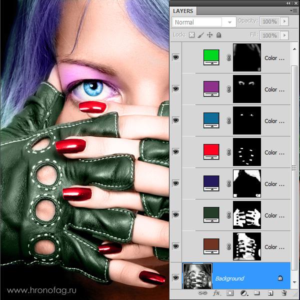 Как сделать цветным старое фото 945