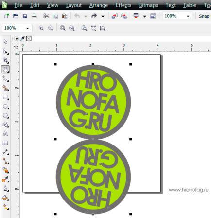 Как в coreldraw сделать объект полупрозрачным