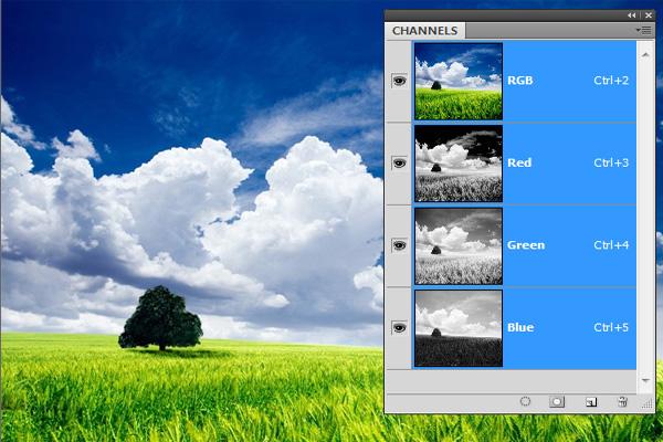 Каналы в Фотошопе [ч1] Цвет, свет и RGB