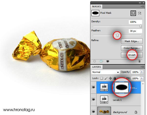 Как сделать картинку в фотошопе онлайн прозрачной