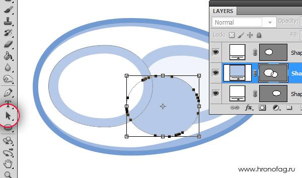 Как сделать круглым в иллюстраторе