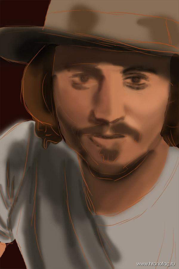 42 Как нарисовать Джонни Деппа