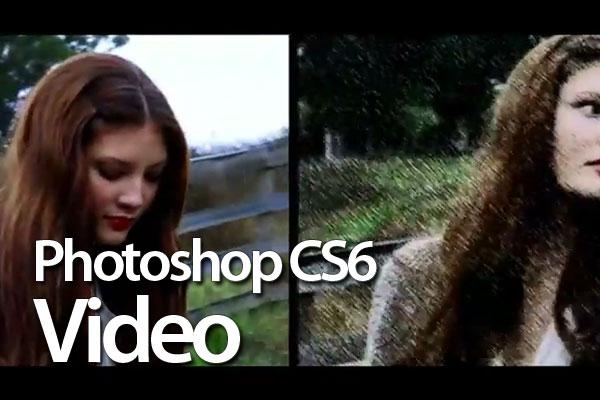 Фотошоп CS6 и видео редактирование