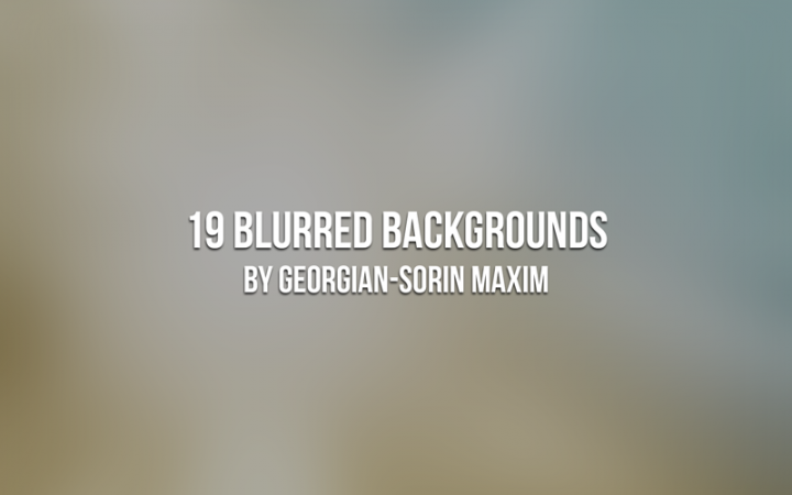 blurredbackgrounds