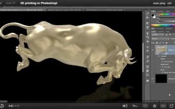3D печать в Фотошопе от Деке