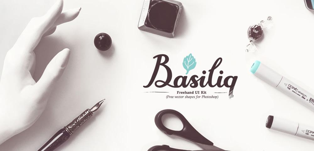 UI kit проектирования Basiliq