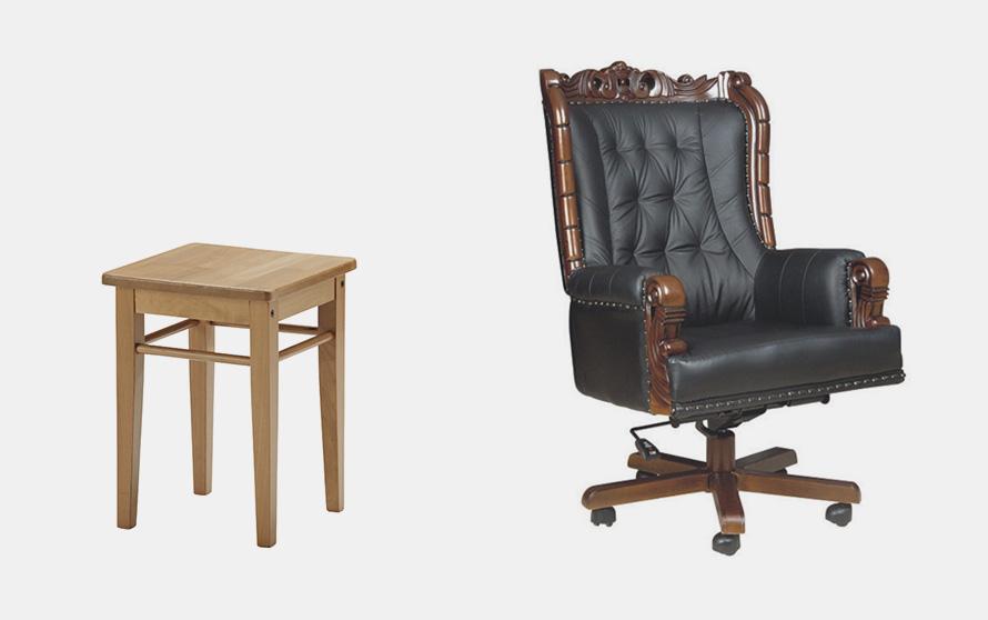 табурет и кресло